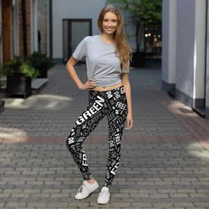 Leggings Black and White